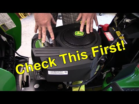Riding Mower Engine Surging / Misfire Easy Fix