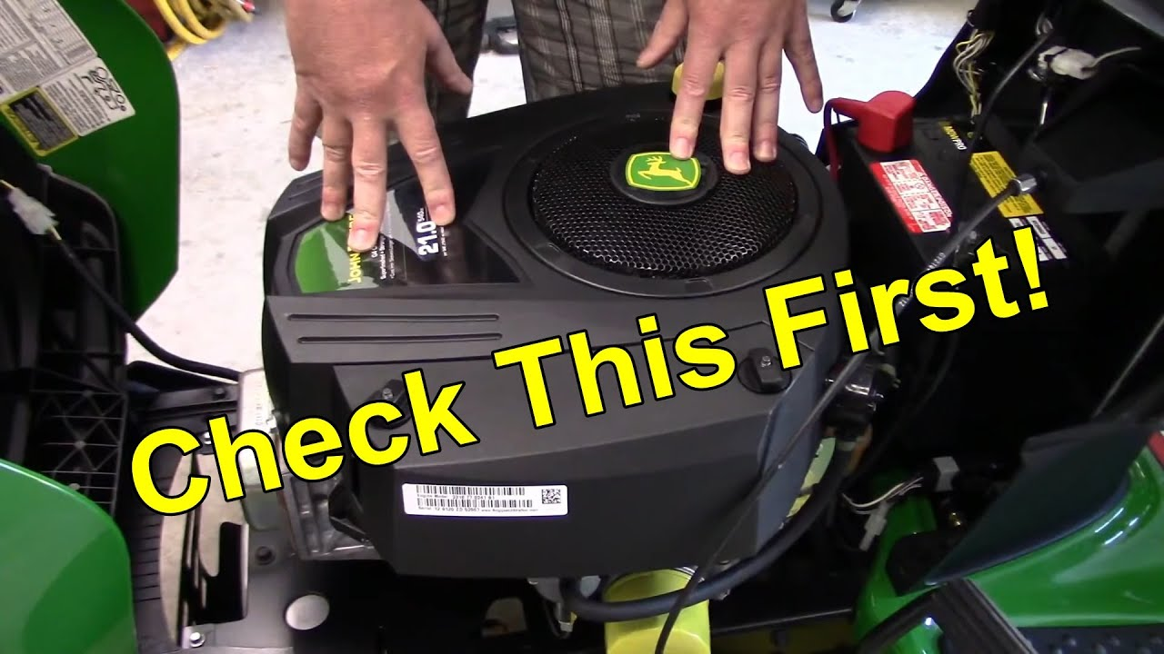 Riding Mower Surging / Misfire Easy Fix