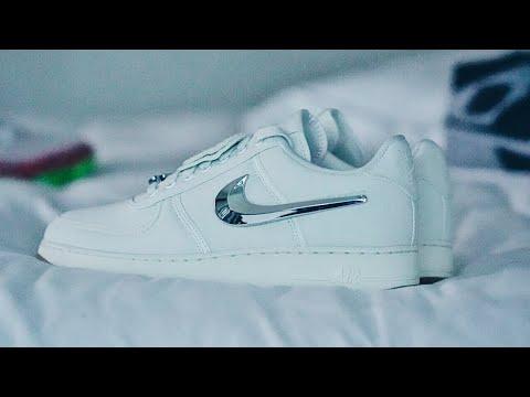 867c26057 UNBOXING  Nike x Travis Scott Part II Sneaker Review - YouTube