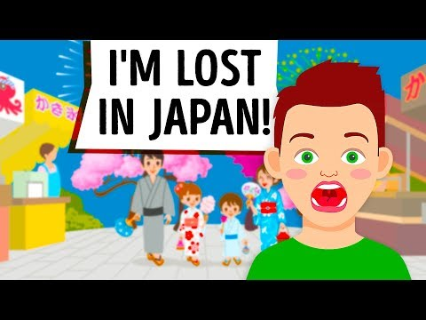 LOST IN JAPAN! MY TRAVEL HORROR STORY ANIMATED