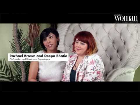 Emirates Woman, Woman Of The Year Awards 2016, Artists Nominee — Deepa Bhatia & Rachael Brown