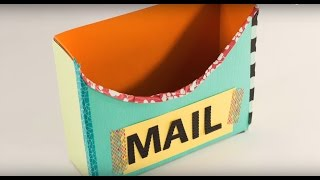How to Make a Cardboard Mailbox