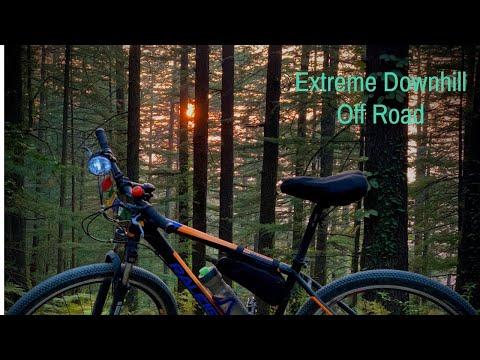 The British Resort Trail, Shimla | DOWNHILL | mtb shimla |himalayas| 4k | Cycle Ride|Full HD|