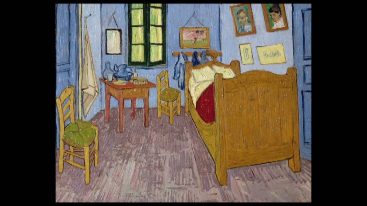 vincent van gogh - the bedroom in arles - monty's minutes - youtube