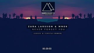 Download Zara Larsson, MNEK - Never Forget You (GOOZE X Ignotus Remix) MP3 song and Music Video