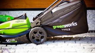 GreenWorks GD40LM45  G-MAX DigiPro 40V Cordless Lawn Mower