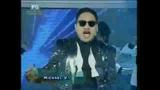 eat bulagangnam style michael v as filipino psy