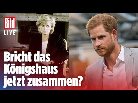 Nach der Diana-Enthüllung: Harry gibt Interview im US-TV   BILD Live Spezial