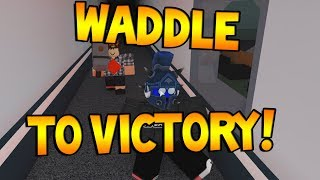 WADDLE TO VICTORY!! [Flee the Facility ROBLOX]