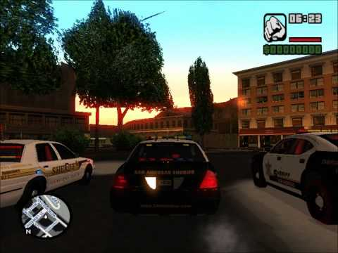 San Andreas Sheriff's Department Skin Pack LINK ADDED