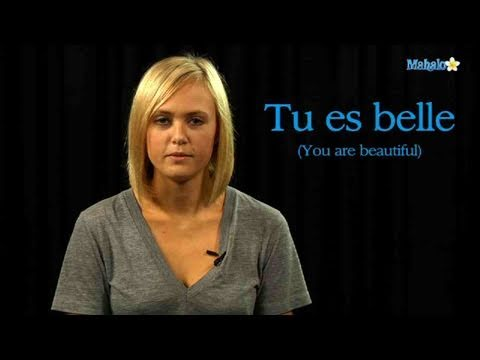 How To Say You Are Beautiful In French