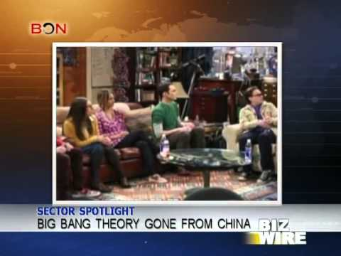 Big Bang Theory falls into China's black hole - Biz Wire - April 30,2014 - BONTV China