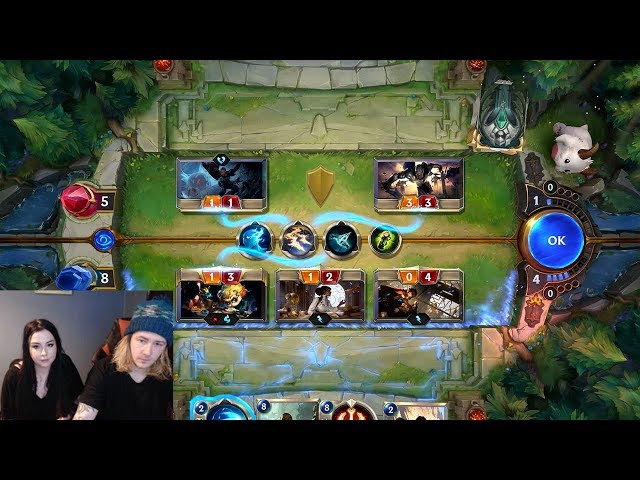 Legends of Runeterra but it's a livestream of League's new card game