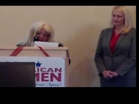 Clark County Republican Prayer for America  Evangelista Gina Carson