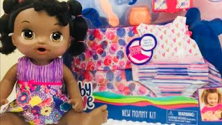 Baby Alive New Mommy Kit Unboxing