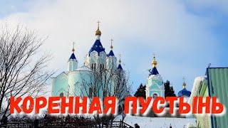 #КОРЕННАЯ ПУСТЫНЬ - КУПАНИЕ В КУПЕЛИ - НА РОЖДЕСТВО 7.01.2019