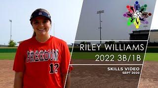 Riley williams skills video