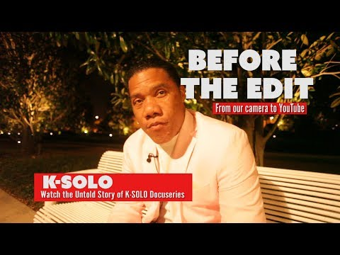 K-Solo |Before the Edit: Talks Suge Knight,Dr.Dre,Epmd & Rap History Uncut & Raw!