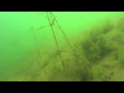 MORE UNDER WATER RIP RAP LARGEMOUTH BASS ON BRIDGE SIDE CASTAIC LA GOON