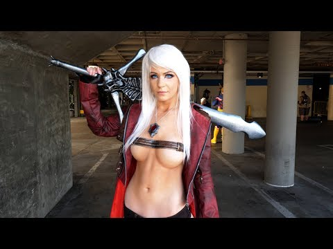Anime Expo 2018 Cosplay Music Video 4K - Part 1