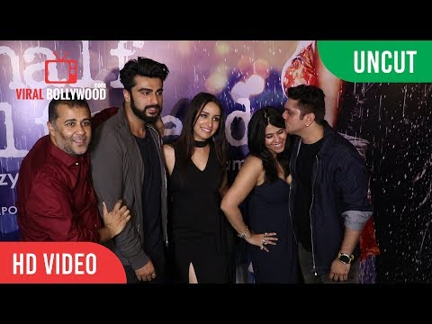 UNCUT - Half Girlfriend Success Party | Sharaddha Kapoor, Arjun Kapoor, Mohit Suri, Ekta Kapoor
