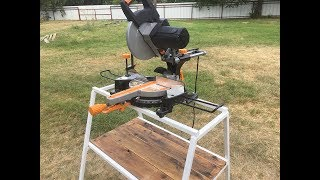 Miter saw stand (How to make)