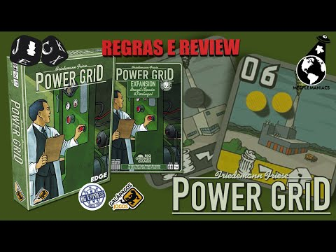 Jack Explicador - Power Grid - Review e Regras