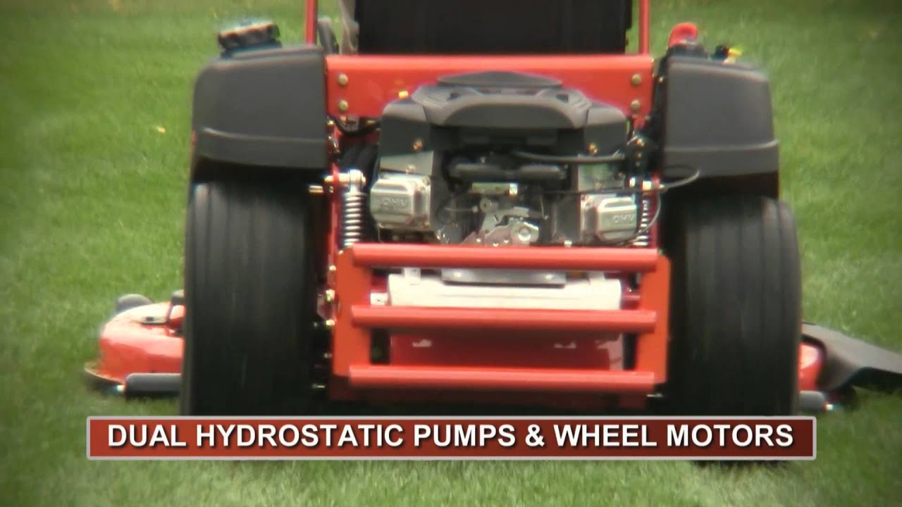 Simplicity Champion Zero Turn Mower - YouTube