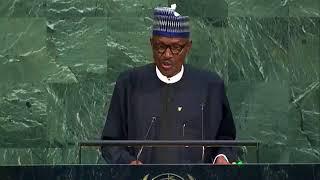 Buhari UN Speech Tue Sep 19 2017 /Jawabin shugaba Buhari ga taron Majalisar Dinkin Duniya a New York
