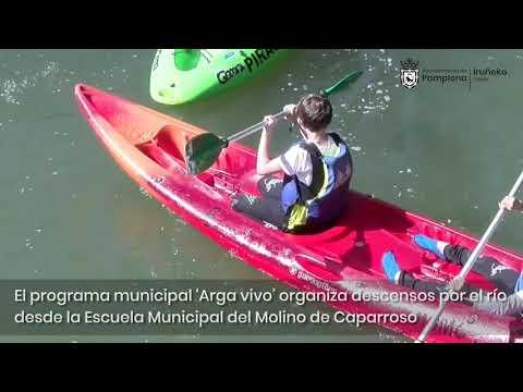 'Arga vivo – Arga bizirik', programa escolar para conocer la biodiversidad del río