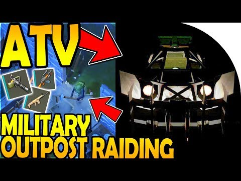 ATV + MILITARY OUTPOST RAIDING (x2) - Last Day On Earth Survival Update 1.8.3