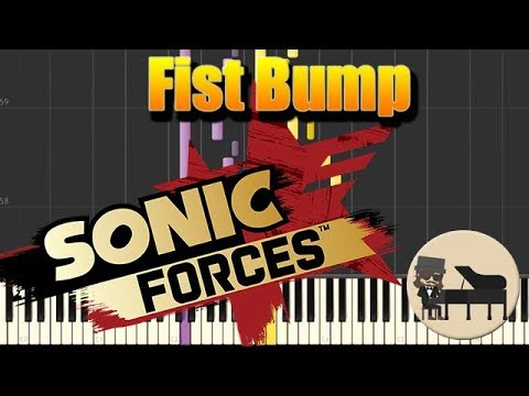 🎵 Fist Bump - Tomoya Ohtani - Sonic Forces [Piano Tutorial] (Synthesia) HD Cover