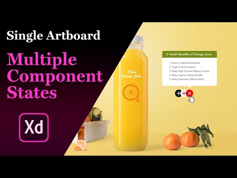 Adobe Xd Components States | Create a Pop-Up window