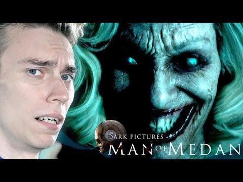 MAN OF MEDAN КООПЕРАТИВ ХОРРОР С ДЕВУШКОЙ! 😱 Прохождение The Dark Pictures: Man of Medan #1