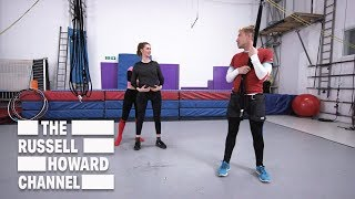 Bungee Dance With Jessica Knappett - The Russell Howard Hour