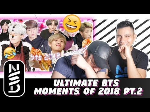 GUYS REACT TO 'Ultimate BTS Moments of 2018 Pt.2'
