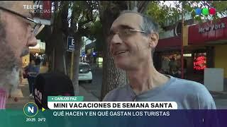 Mini vacaciones, Semana Santa en Carlos Paz