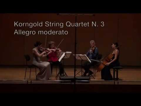 Korngold String Quartet No. 3