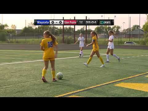 Eden Prairie Vs. Wayzata Girls High School Soccer