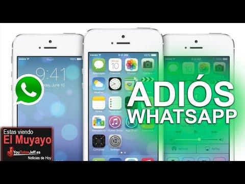 Whatsapp Dejara de Funcionar en estos Telefonos para 2020
