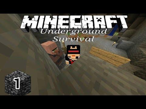 PERTUALANGAN BARU DIBAWAH TANAH - Minecraft Underground Survival Indonesia