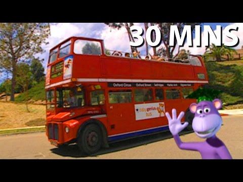 Wheels On The Bus Song 30 Minutes Full DVD Sing Along   Nursery Rhymes Kids Songs   From Baby Genius
