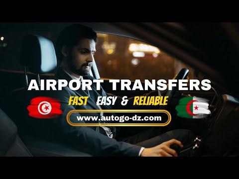 Taxi and private airport transfers in Algeria and Tunisia.