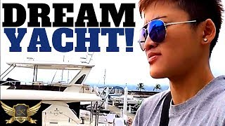 VISUALIZE YOUR DREAMS INTO REALITY | DREAM YACHT + HOLIDAY VLOG | Karen Trader Vlog 060