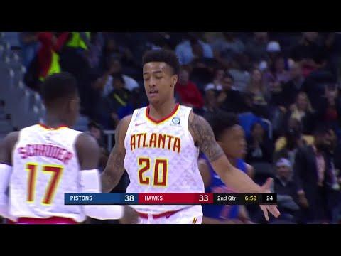 2nd Quarter, One Box Video: Atlanta Hawks vs. Detroit Pistons