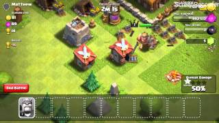 Clash of Clans 1 Troop Raid- Barbarian King