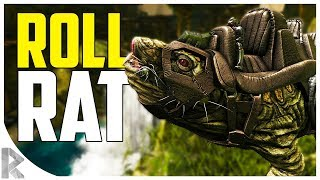 ROLL RAT TAMING! FASTEST MOUNT! - How to Tame a Roll Rat - Ark Aberration Expansion Pack DLC EP#8