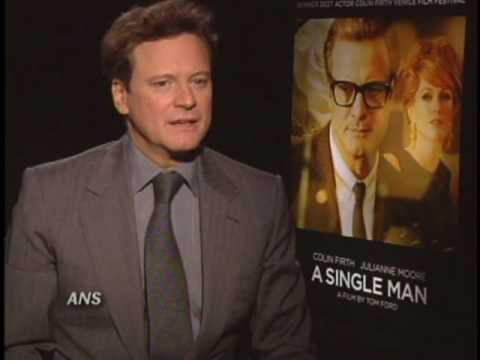 COLIN FIRTH ANS A SINGLE MAN INTERVIEW