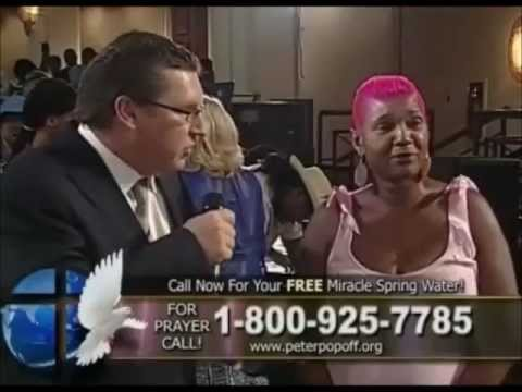 Peter Popoff's Most Insane Moments - Part 1