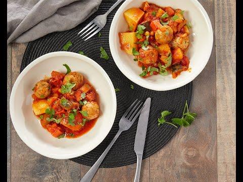 recette---tajine-aux-boulettes-de-poulet-et-légumes-pour-couscous---colruyt